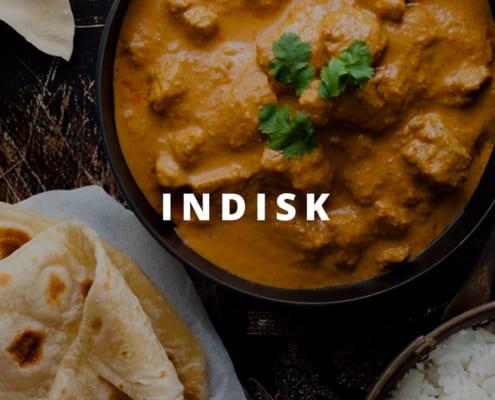 Indisk madvogn til leje