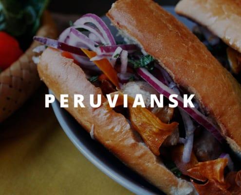 Perruviansk mad kok