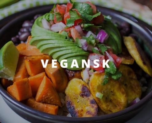 Vegansk foodtruck bestil
