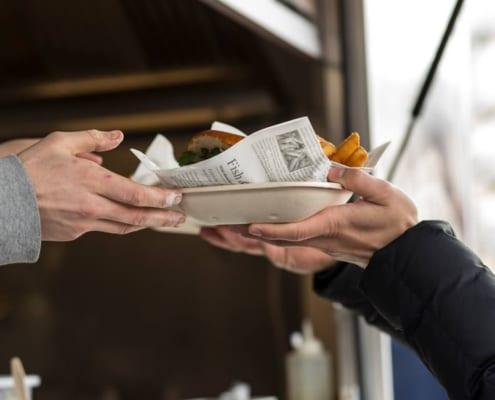 Engelsk Food truck