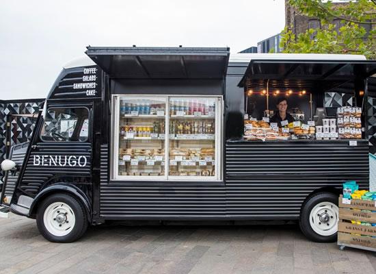 Lej food truck i København