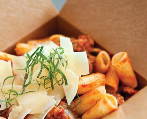 Italiensk food truck
